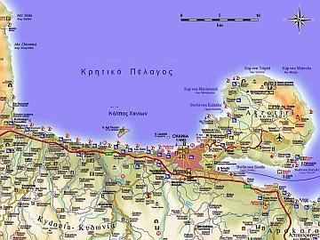 Similiar Map Chania Creta Deluxe -