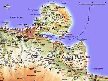 Creta Deluxe City Maps Maps Of Crete